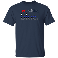 Red, White and Blue T-Shirt T-Shirts Navy S
