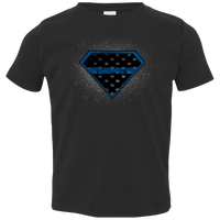 Toddler 2T-5/6 Super Leo T-Shirts CustomCat Black 2T