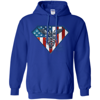 Super Nurse Hoodie Sweatshirts Royal S