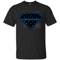 Super Police Thin Blue Line Shirt T-Shirts CustomCat