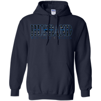 TBL Husband Hoodie Sweatshirts CustomCat Navy Small