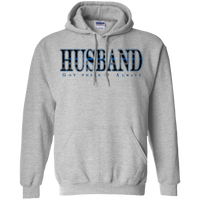 TBL Husband Hoodie Sweatshirts CustomCat Sport Grey Small