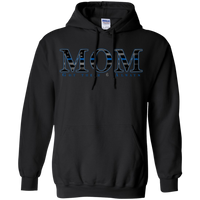 TBL Mom Hoodie Sweatshirts CustomCat Black Small