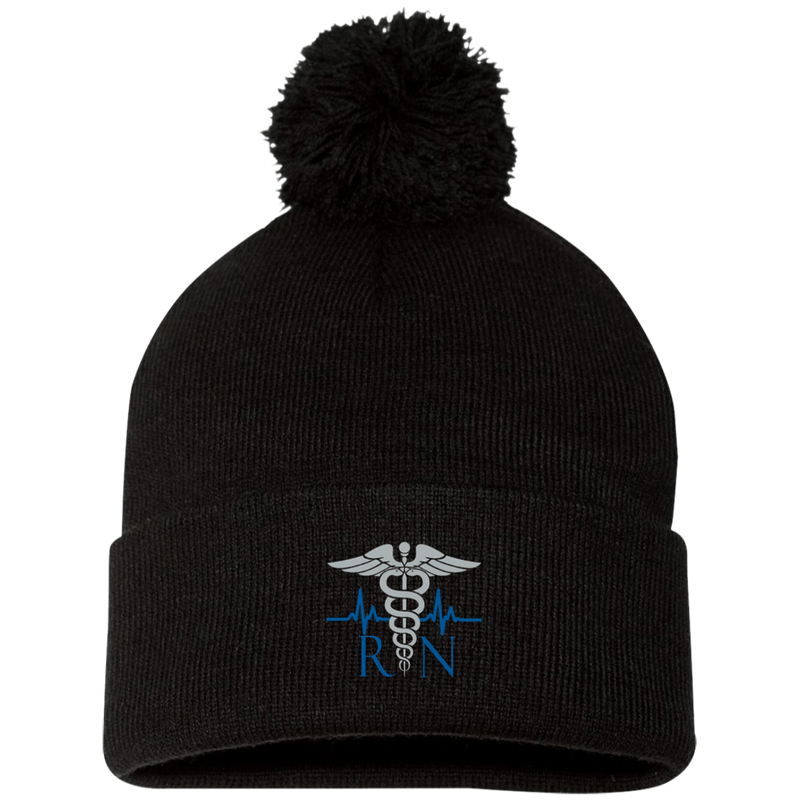 products/the-nurses-embroidered-caduceus-pom-pom-cap-hats-black-one-size-536876.png