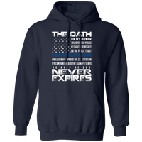 The Oath Hoodie Sweatshirts Navy S
