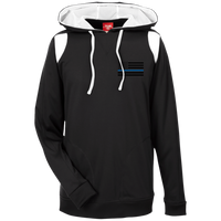 Thin Blue Line Apparel: Black Ops Performance Hoodie For Him Sweatshirts CustomCat Black/White X-Small