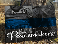Thin Blue Line Peacemakers Canvas Decor ViralStyle