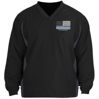 Thin White Line Paramedic Pullover Windshirt Jackets Black/Graphite X-Small