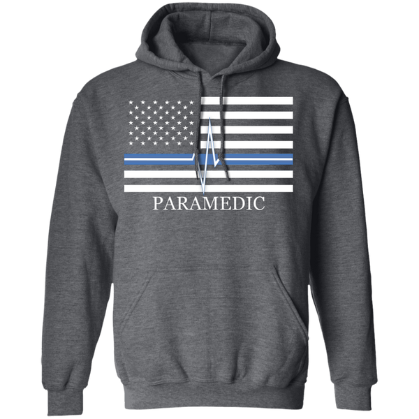 Thin White Line Paramedic Unisex Hoodie Sweatshirts Dark Heather S