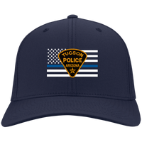 Tucson Blue Line Flag Hat Hats Navy One Size