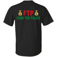Unisex Double Sided Fund The Police T-Shirt T-Shirts