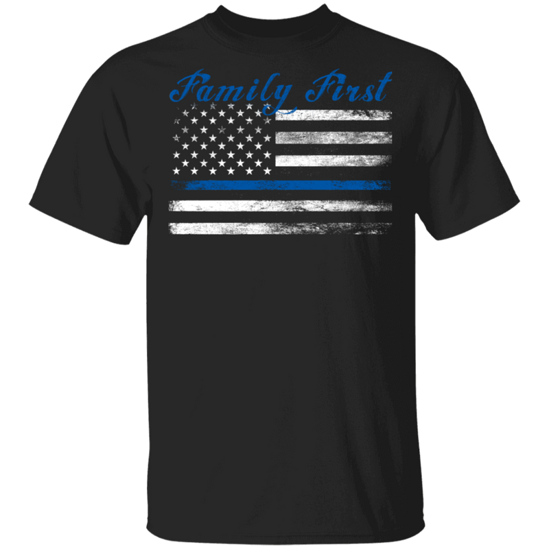 products/unisex-thin-blue-line-family-first-t-shirt-t-shirts-black-s-974129.png