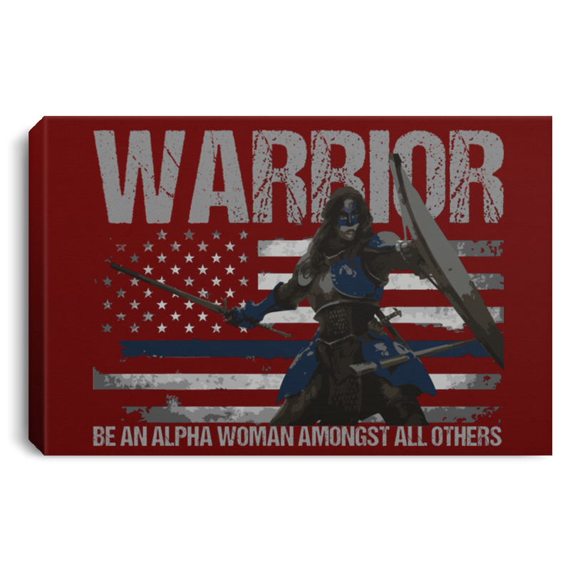 products/warrior-be-an-alpha-woman-thin-blue-line-canvas-housewares-maroon-18-x-12-110984.png