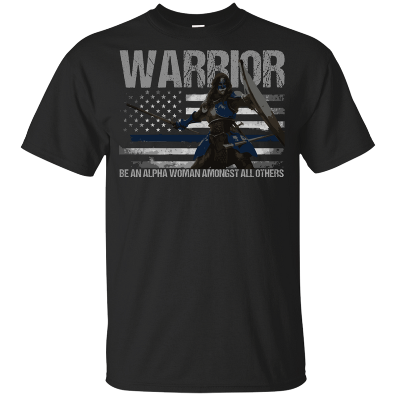 products/warrior-be-an-alpha-woman-thin-blue-line-youth-t-shirt-t-shirts-black-yxs-894793.png