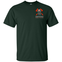 We Fight What You Fear Firefighter T-Shirt T-Shirts Forest S