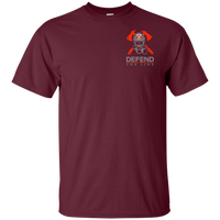 We Fight What You Fear Firefighter T-Shirt T-Shirts Maroon S