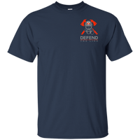 We Fight What You Fear Firefighter T-Shirt T-Shirts Navy S