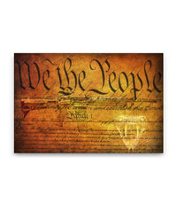 We The People Canvas Decor ViralStyle Premium OS Canvas - Landscape 24x16*