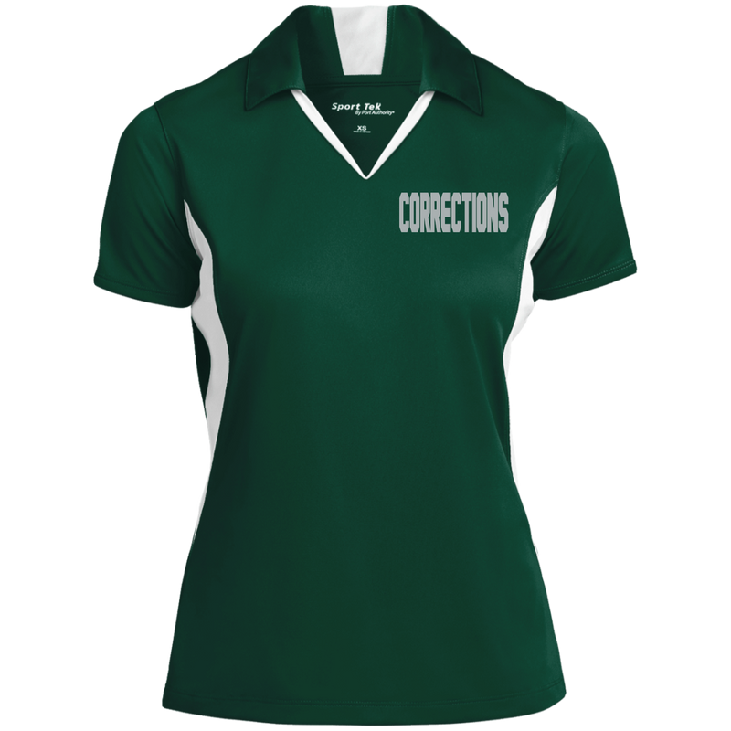 products/womens-embroidered-corrections-colorblock-performance-polo-polo-shirts-forest-greenwhite-x-small-912233.png