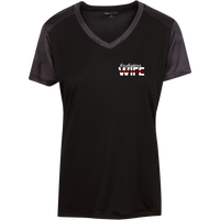 Women's Firefighter Wife Athletic Shirt T-Shirts Black/Iron Grey X-Small