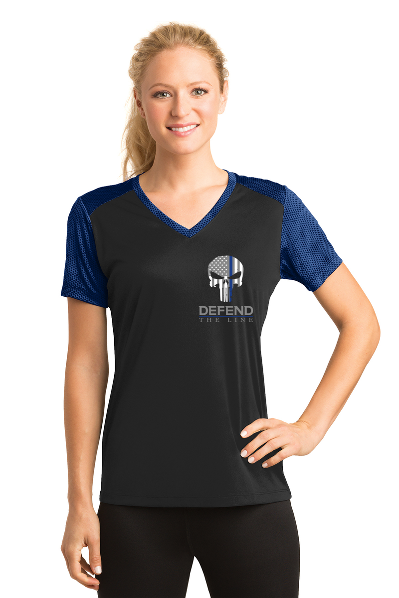 products/womens-punisher-thin-blue-line-cross-flag-athletic-shirt-t-shirts-960736.png