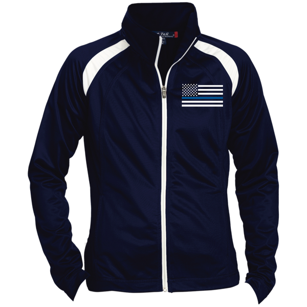 Thin Blue Line Embroidered Jacket
