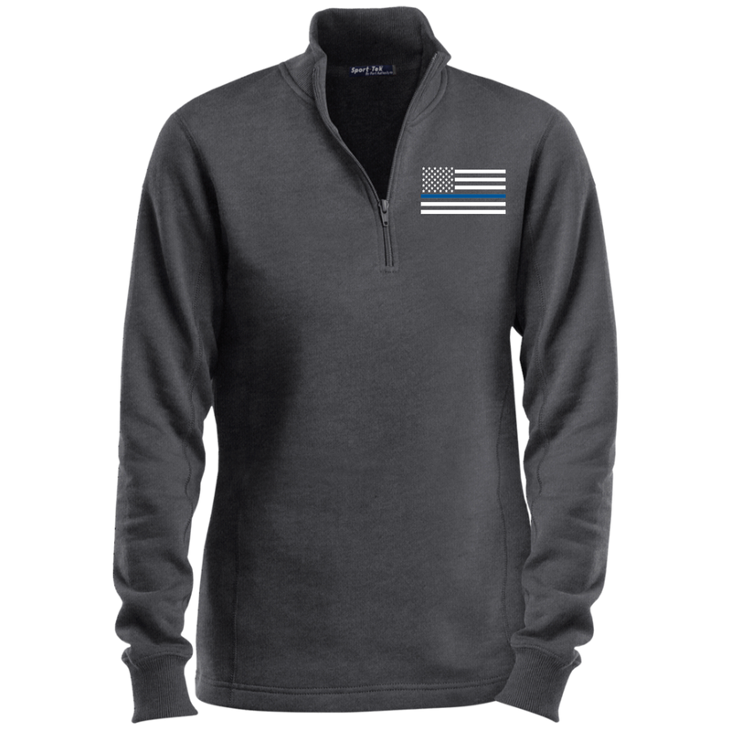 products/womens-thin-blue-line-white-14-zip-performance-sweatshirt-sweatshirts-graphite-heather-x-small-700577.png