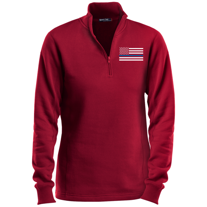 products/womens-thin-blue-line-white-14-zip-performance-sweatshirt-sweatshirts-true-red-x-small-846390.png