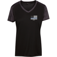 Women's Thin White Line EMT Athletic Shirt T-Shirts Black/Iron Grey X-Small