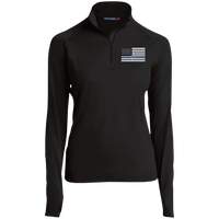 Women's Thin White Line Performance Pullover Pullover Black X-Small