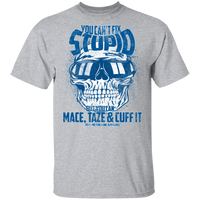 You Cant Fix Stupid T-Shirt T-Shirts Sport Grey S