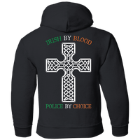 Youth Double Sided Irish by Blood Punisher Hoodie Sweatshirts