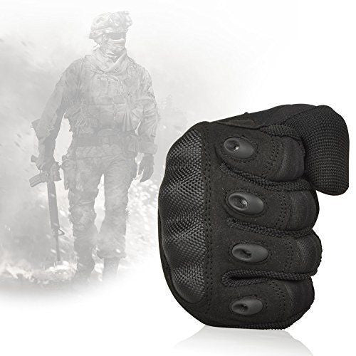 Premium Tactical Military Grade Hard Knuckle Full Finger Gloves