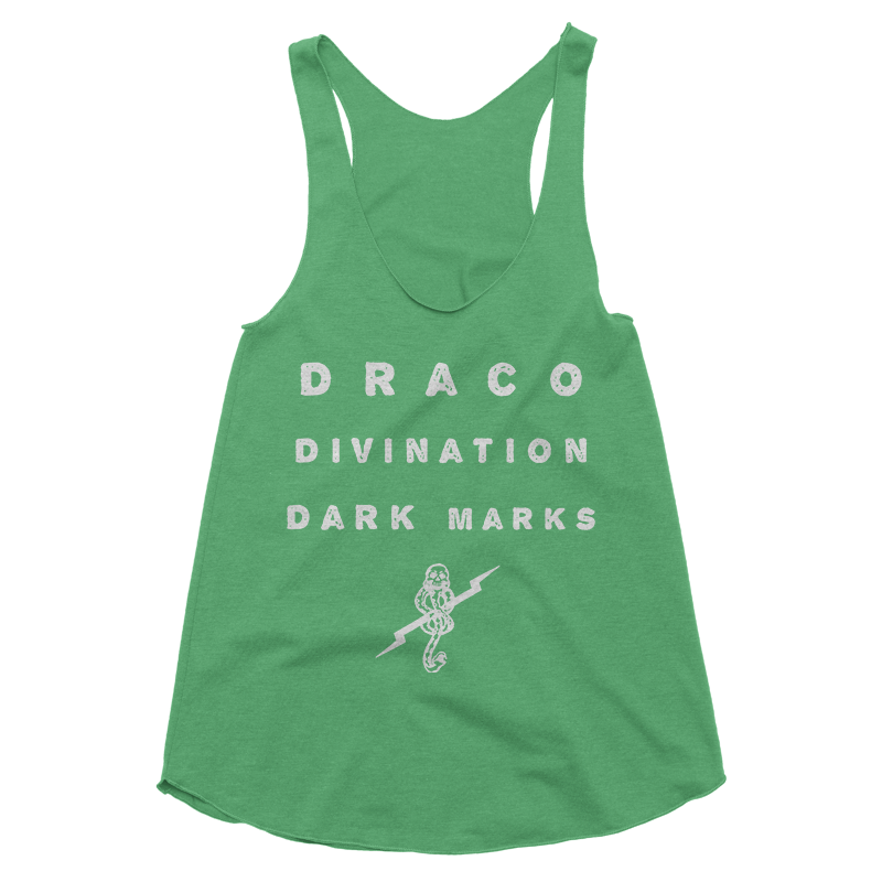 Draco, Divination and Dark Marks Tank Top