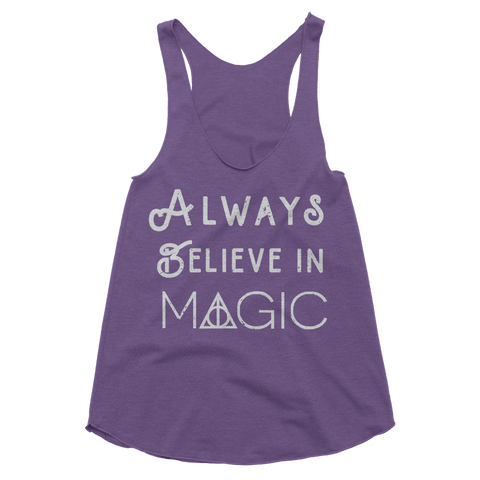 Always Believe In Magic Tank Top
