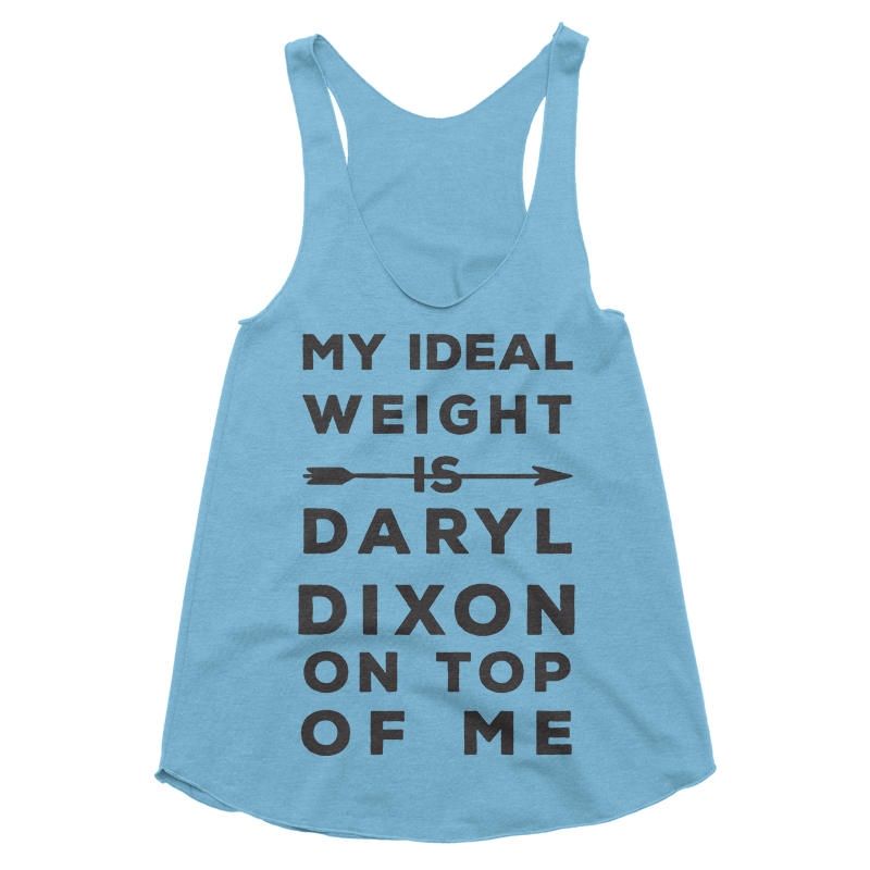 My Ideal Weight Is Daryl Dixon Tank