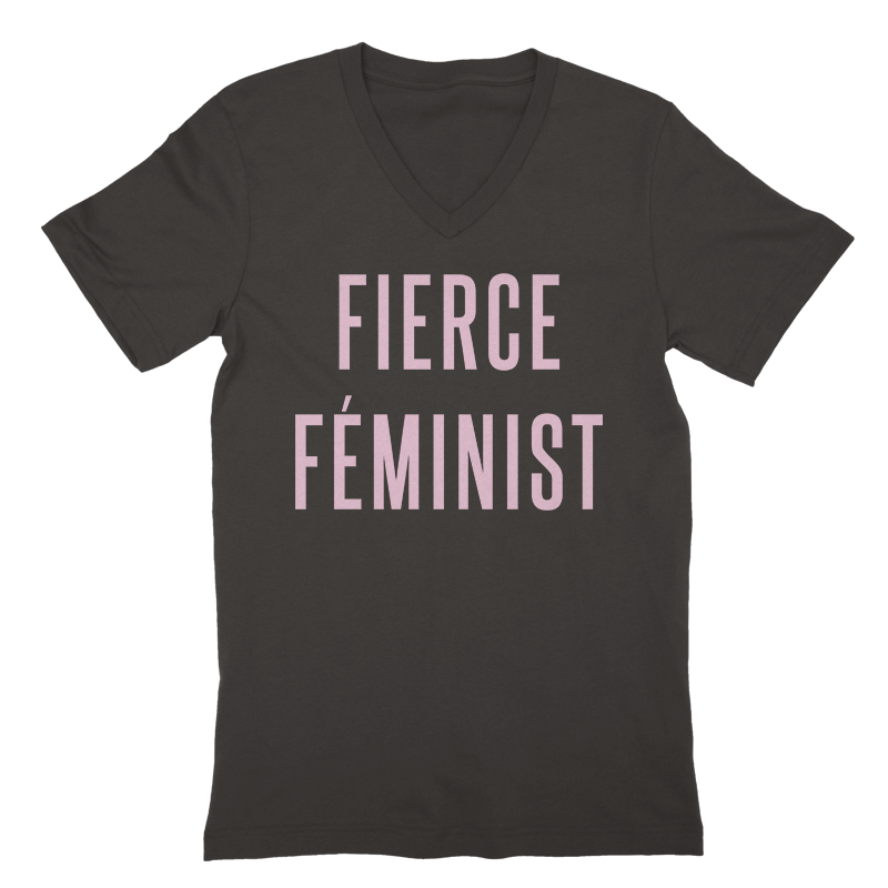 Fierce Feminist V-Neck