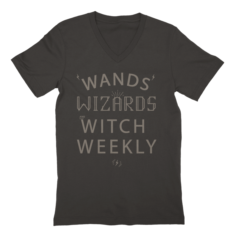 Wands, Wizards and Witch Weekly V-Neck