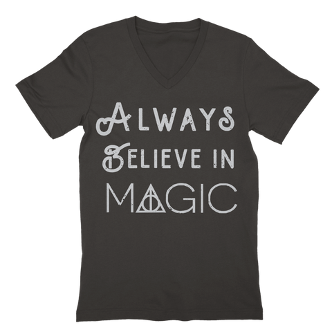 Always Believe In Magic v-neck