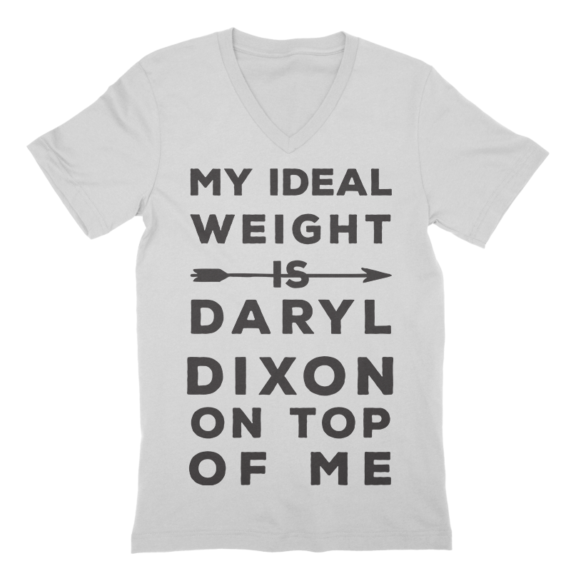 Ideal Weight Is Daryl Dixon On Top V-Neck