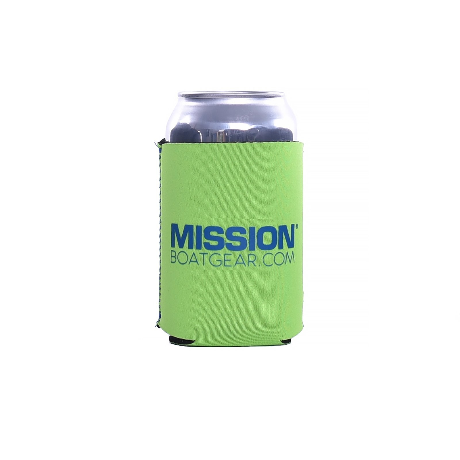 Lime Green MISSION Can Cooler
