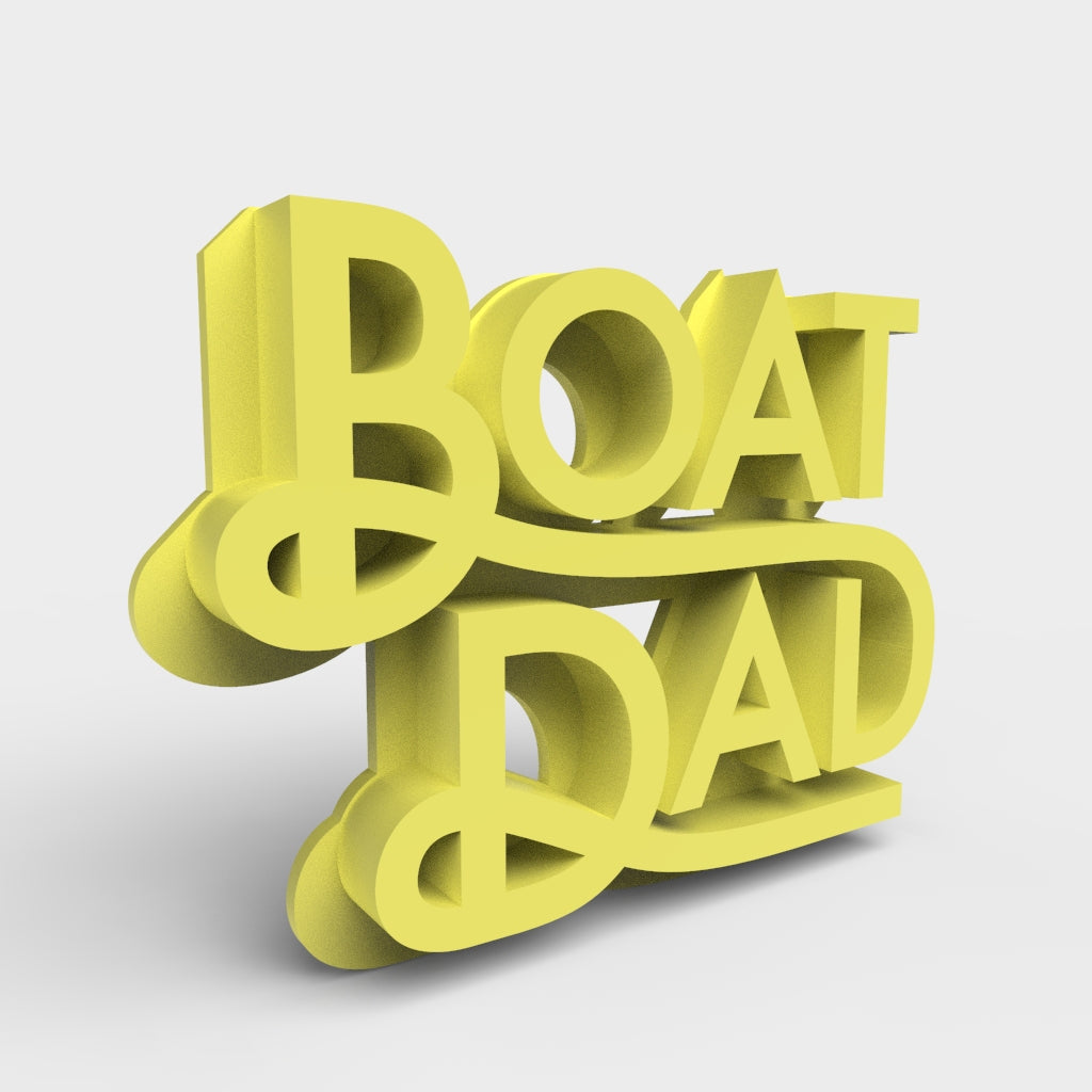 Boat Dad 3D Printable Model