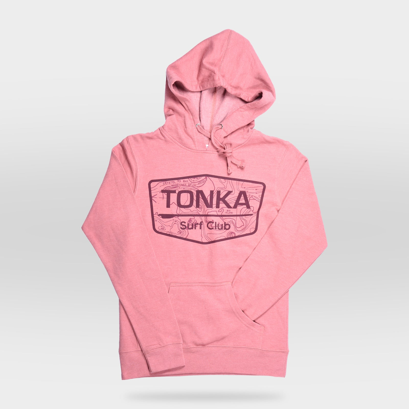 Pink Women's TONKA Surf Club Hoodie Sweatshirt
