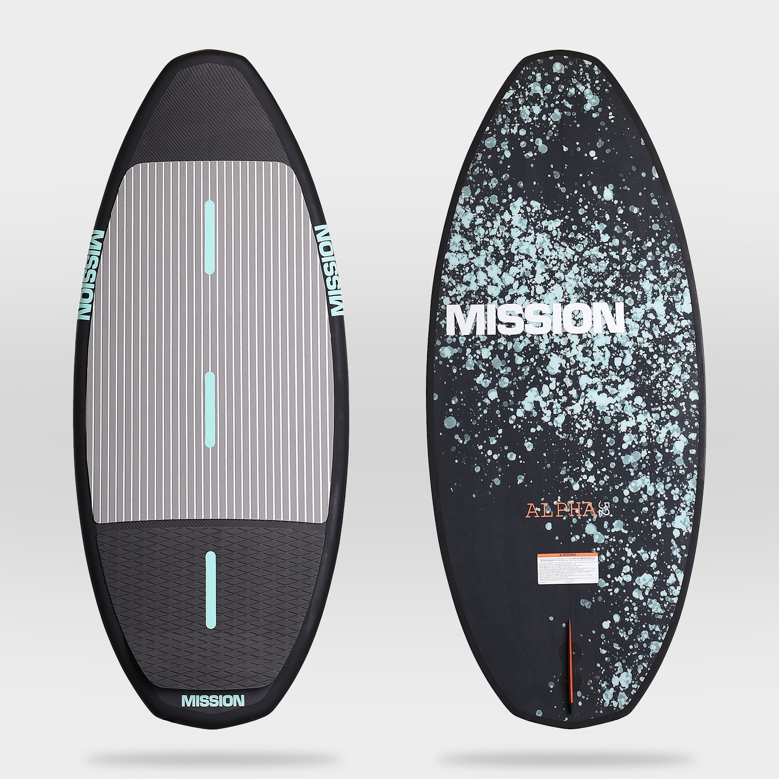 ALPHA :: Skim-style board :: MISSION Boat Gear