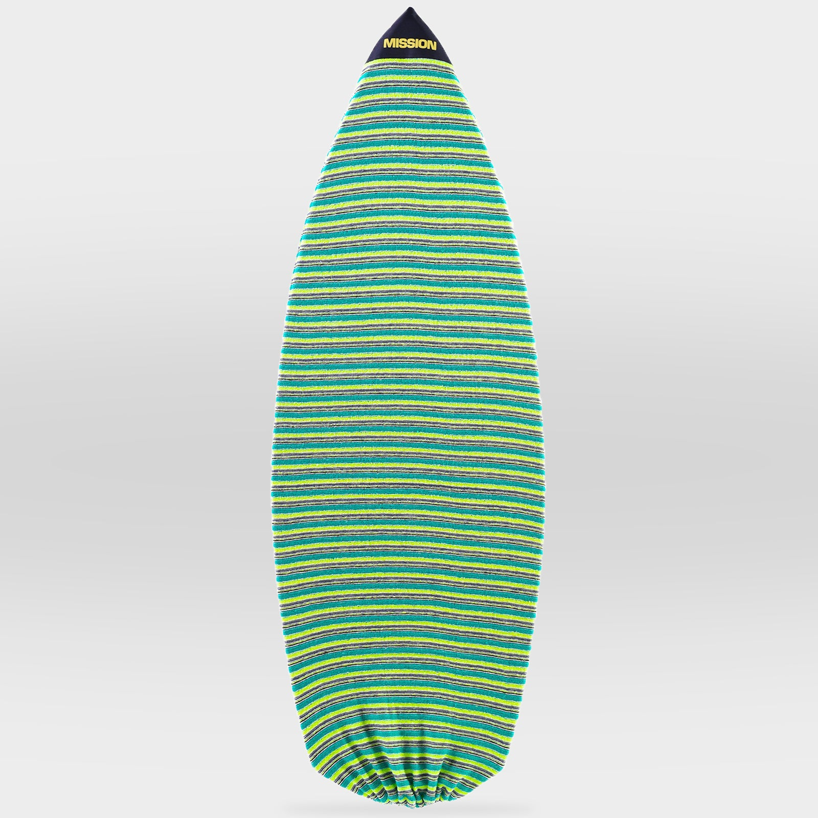 Green Classic Point Nose MISSION Wakesurf Board Sock