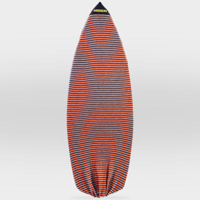 Orange Classic Point Nose MISSION Wakesurf Board Sock