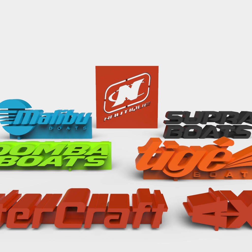 Boat Brands 3D Printable Model