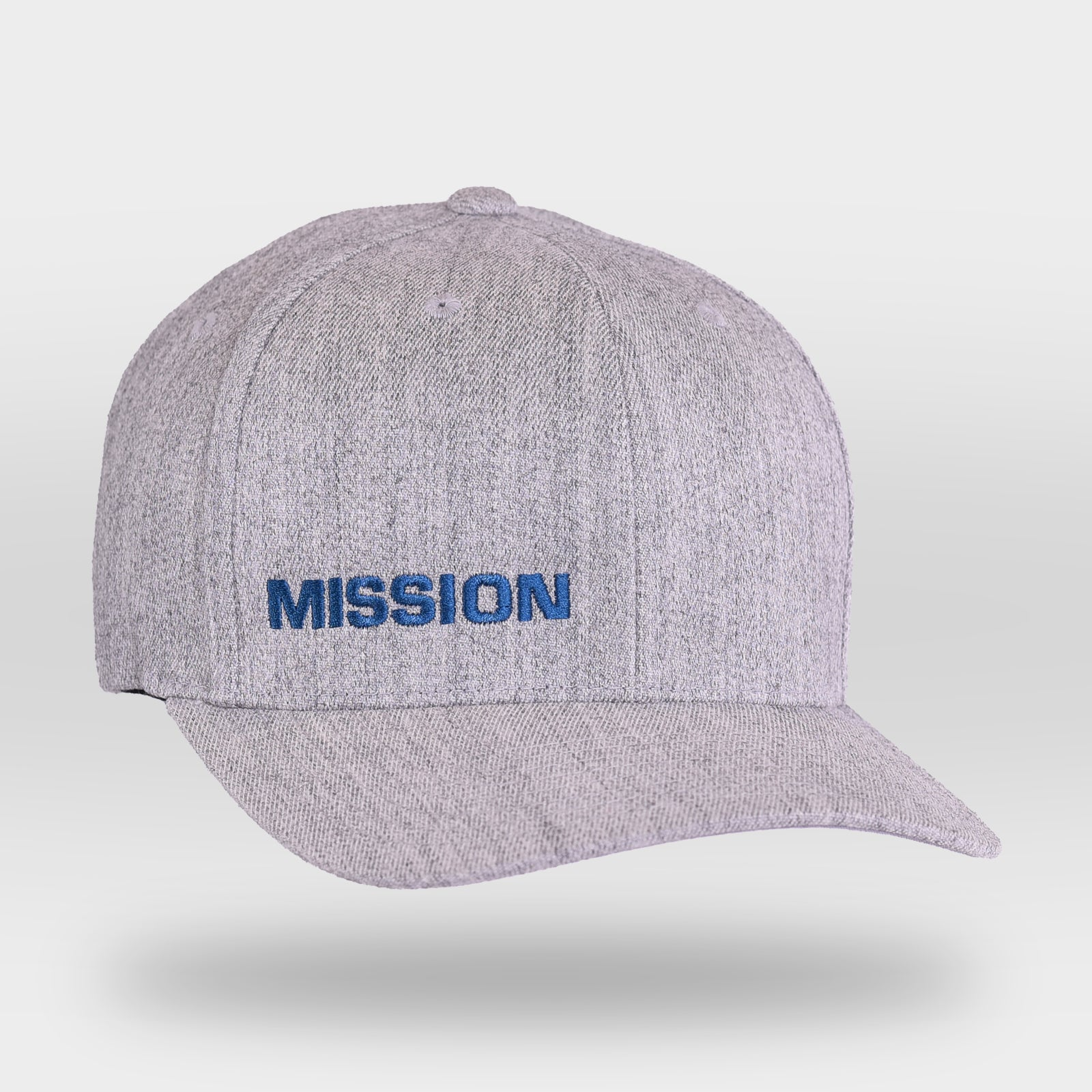 Gray MISSION Flexfit Hat