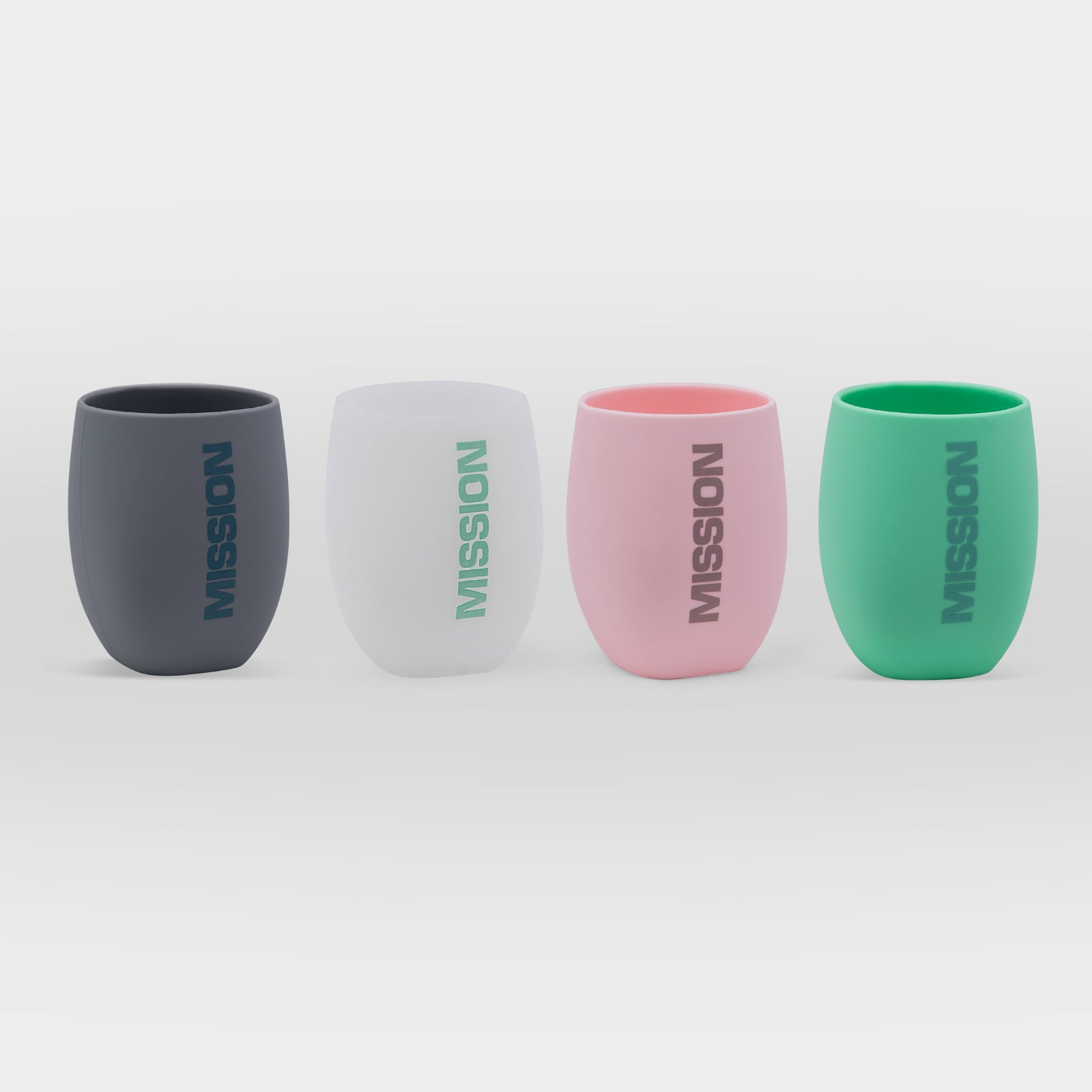 MISSION Silicone Wine Tumblers - Set