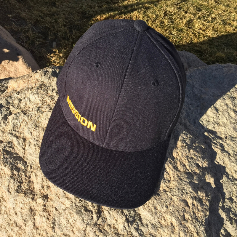 Navy MISSION Flexfit Hat